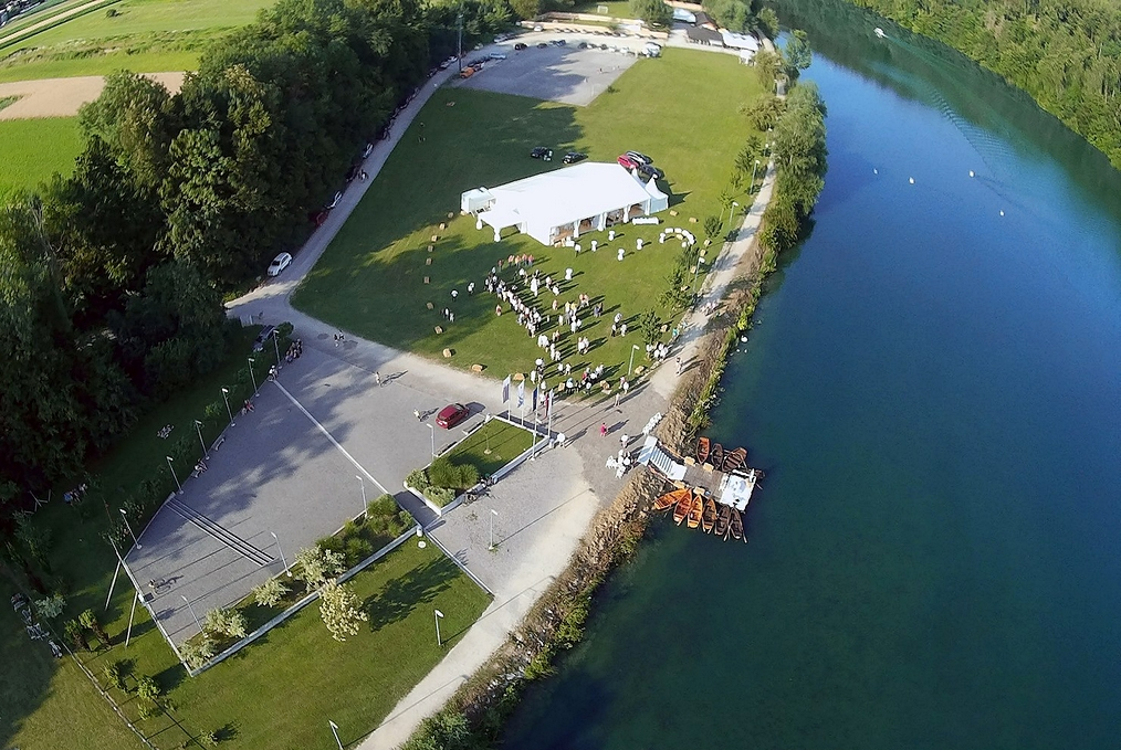 Zbiljsko jezero - the location of Slovenia BBQ open contest